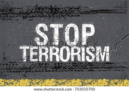 stop terrorism and trace of
