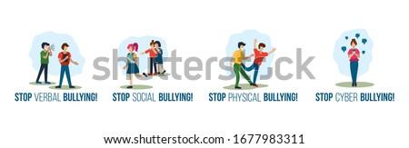 stop verbal social physical