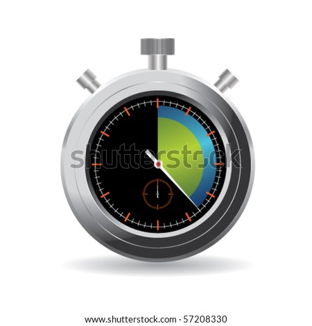 Stopwatch - stock vector