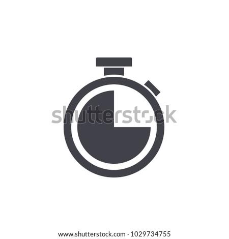stopwatch icon vector Eps10