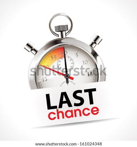 stopwatch   last chance