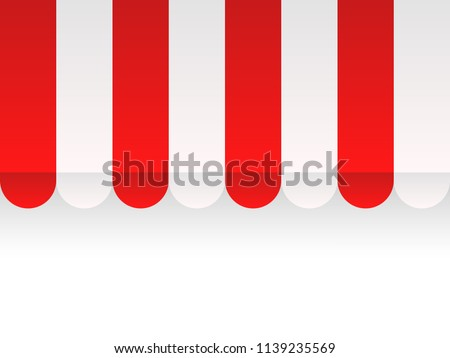 Vector Background With Red And White Stock Photo