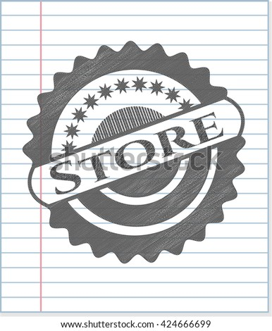 Store draw (pencil strokes)