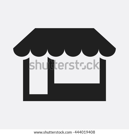 Store icon illustration isolated vector sign symbol