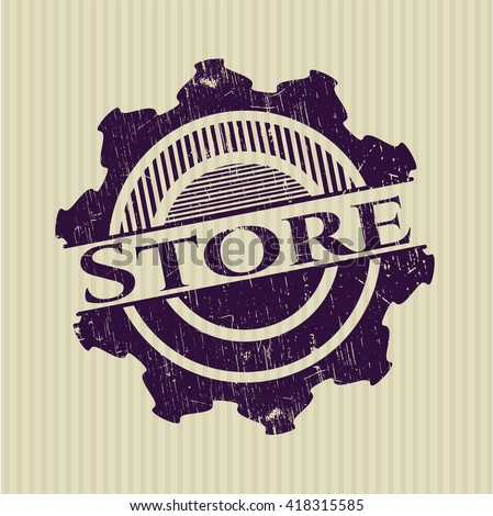 Store rubber stamp