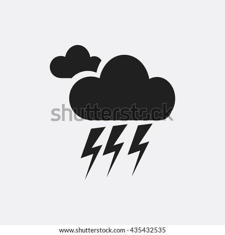 storm icon  storm icon eps10