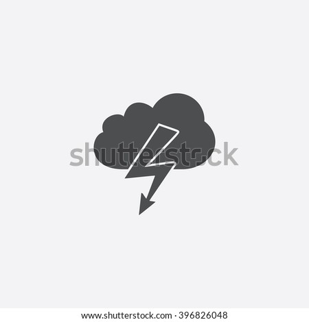 storm icon vector storm icon