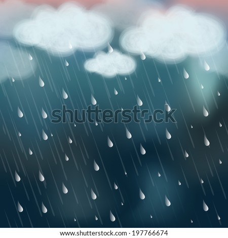 stormy weather background with
