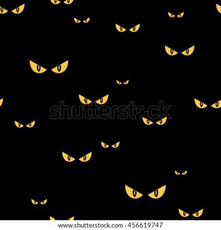 strange scary eyes in the dark