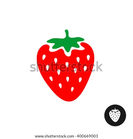 Strawberry Silhouette At Getdrawings Free Download