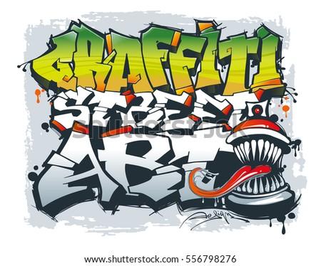 street art concept vector