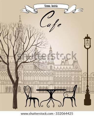 street cafe in old city