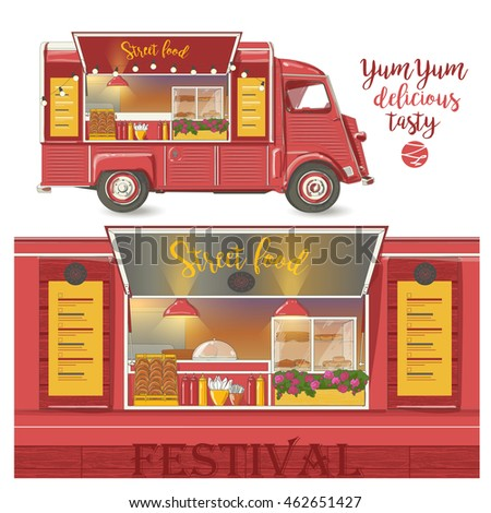 street food van fast food