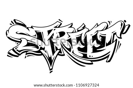 Graffiti Tag Letter Free Vector Download Free Vector Art Stock