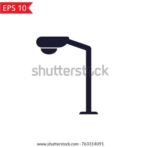 street light icon vector