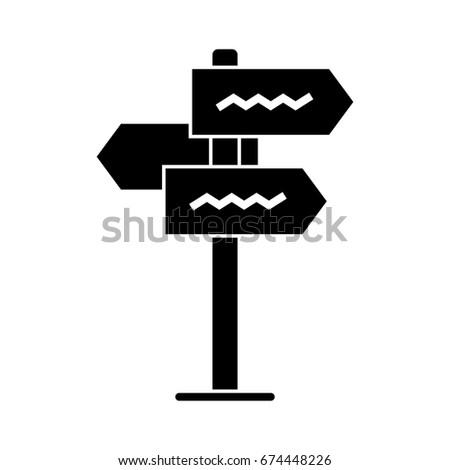 street pointer icon