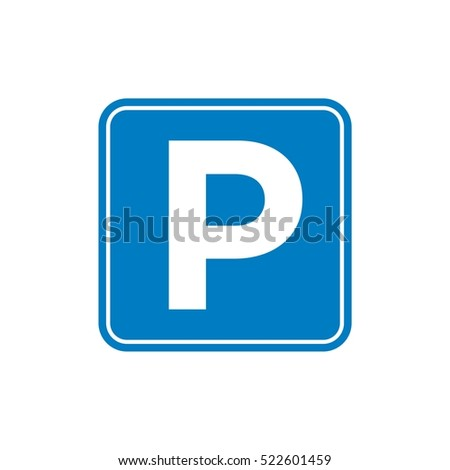 Street / Road Sign : Parking Area