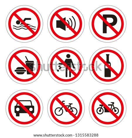 Street signs vector, Icon Signs - vector