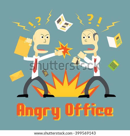 stress in office and people get