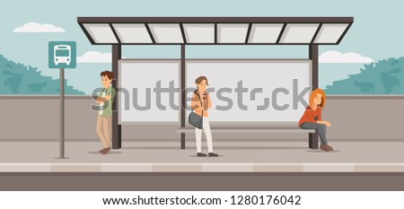 stressed people on station