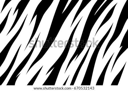 stripe animal jungle bengal tiger fur texture pattern seamless repeating white black