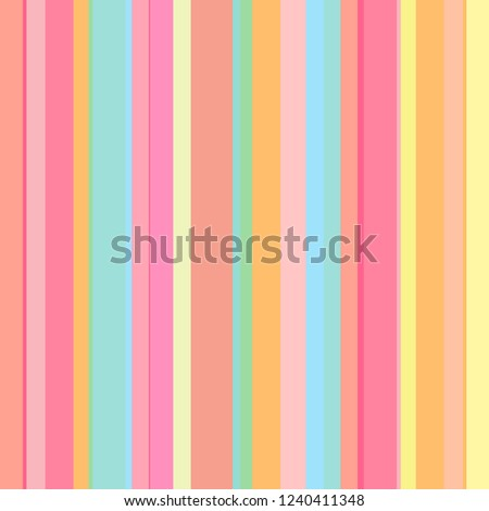 Stripe pattern. Multicolored background. Seamless abstract texture with many lines. Geometric colorful wallpaper with stripes. Print for flyers, shirts and textiles