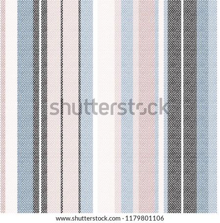 stripe pattern on blue