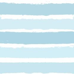 Stripe seamless pattern, blue baby watercolor striped background, childish pastel brush strokes. vector grunge stripes, marine paintbrush line backdrop
