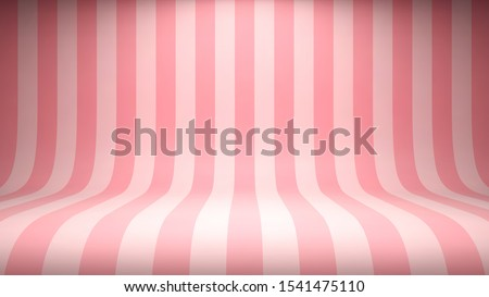 striped candy pink studio