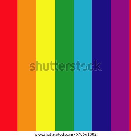 Striped multicolored rainbow seamless texture. Vector illustration.