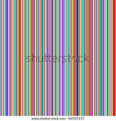 Striped seamless vintage pattern from  thin vertical strips (vector)