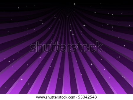 Striped vector background field