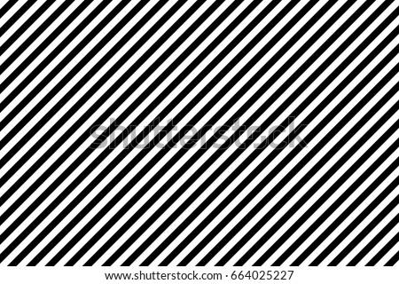 Stripes diagonal pattern. White on black. Vector illustration.