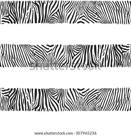 stripes with the zebra texture