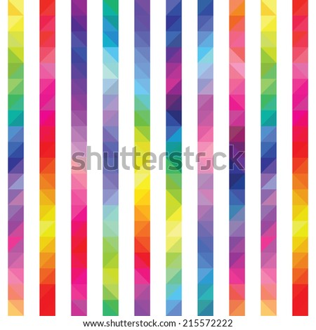 strips from color triangles a