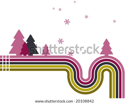 stripy abstract vector background