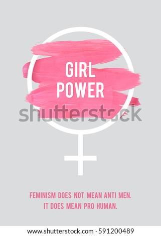 stroke poster feminism female