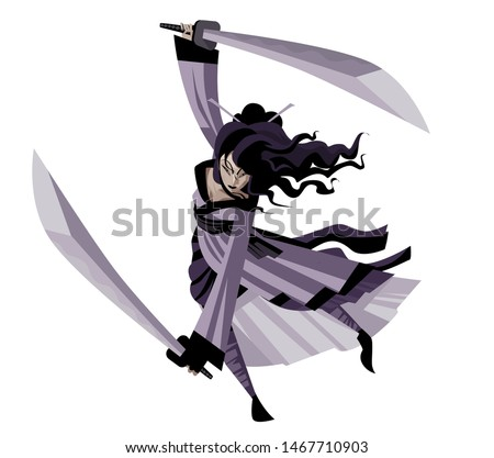 strong asian warrior female