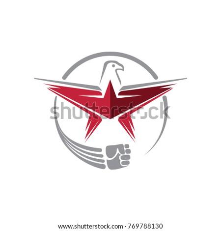 strong falcon logo