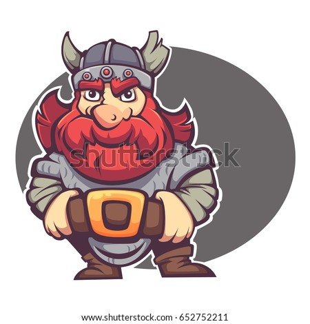 strong hero  vector image of