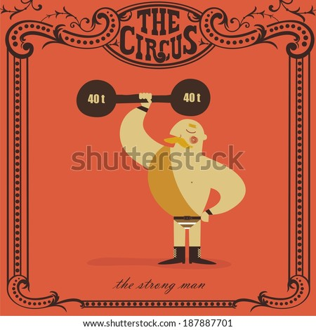strongman lifting weights