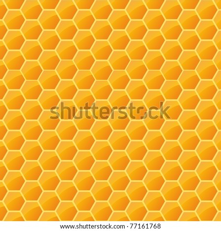 structure with honeycomb