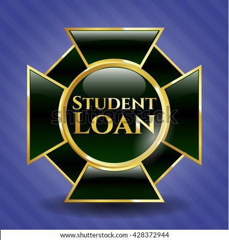 Student Loan gold emblem