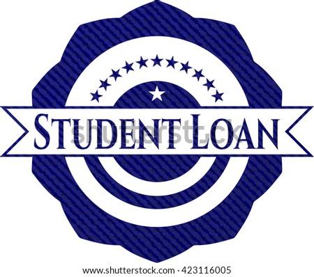 Student Loan jean background