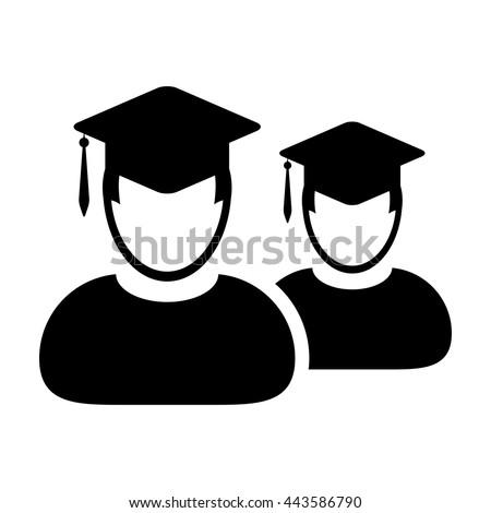 Students Icon - Vector