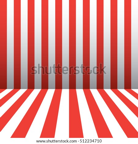 studio backdrops template red and white stripes pattern election american flag color room