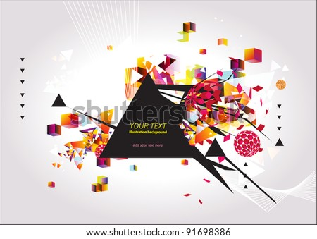 Stunning abstract background