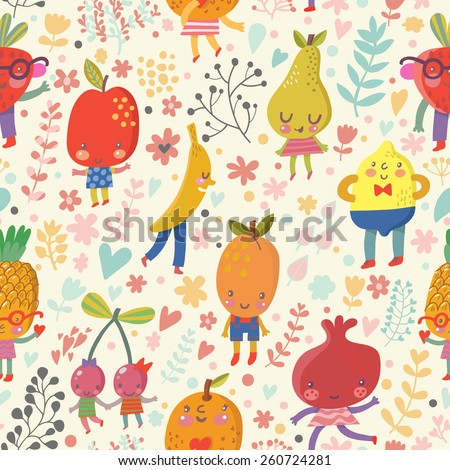stunning fruit background in