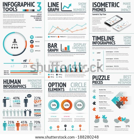 stunning infographic elements