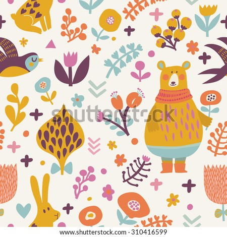 stunning seamless pattern with